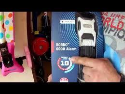 <b>Велосипедный замок Abus</b> 6000A/90 Bordo Alarm white SH ...