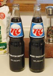 1970 RC Cola!...money back for the empty bottles...we would take ...