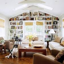 built in shelves home library by jadore_vintage built home library