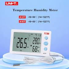 <b>UNI T A12T Digital</b> Thermometer 10 50 (14~122F) Hygrometer ...