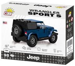 Купить <b>Конструктор Cobi Jeep Wrangler</b> 24115 Sport S по низкой ...