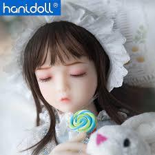 <b>Hanidoll Silicone Sex Dolls</b> 65cm Mini Japanese Love Doll Metal ...