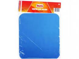 Купить <b>коврик</b> для мышки <b>Buro BU</b>-<b>CLOTH</b>, синий по цене от 130 ...