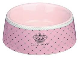 <b>Миска Cat</b> Princess <b>керамическая</b> для кошек - купить в ...