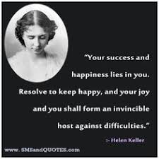 Helen Keller Quotes on Pinterest | Helen Keller, Optimism and ... via Relatably.com