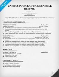 municipal  police officer resume sample  resumecompanion com    campus  police officer resume sample  law  resumecompanion com