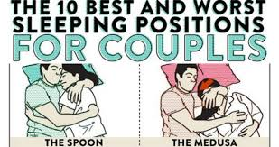 The 10 Best And Worst Sleeping Positions For Couples | WeKnowMemes via Relatably.com