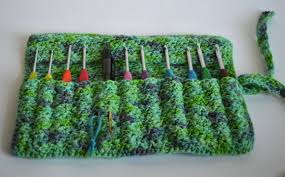 Image result for crochet hook cover