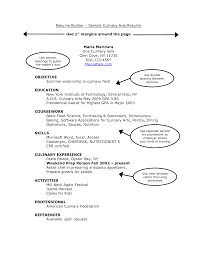 doc 7911024 culinary arts resumes culinary skills resume chef good margins for resume