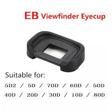 Rubber <b>Eye Cup EB</b> Viewfinder <b>Eyecup</b> for <b>Canon EOS 10D</b> 20D ...