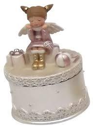 Купить <b>Русские подарки Шкатулка</b> Ангелочек серебристый по ...