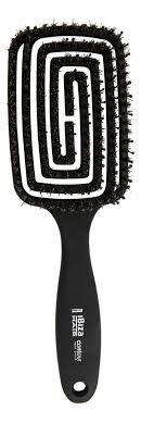 <b>Щетка для волос Flat</b> Plastic Brush Contour Ibiza Hair — купить ...