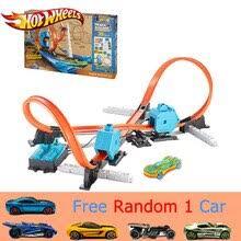 <b>Hot</b> Wheels спортивные автомобили 4 стиля трек в 1 <b>Детская</b> ...