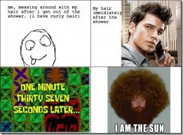 I so hate my curly hair – JumpOverThere via Relatably.com