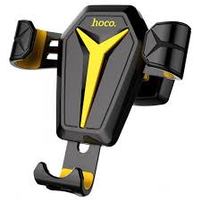 Автодержатель для телефона <b>Hoco CA22 Black</b>/<b>Yellow</b>
