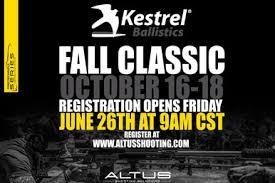 2020 KESTREL BALLISTICS FALL <b>CLASSIC PRS</b> MATCH - ALTUS ...