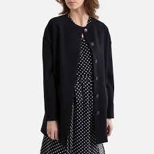 <b>Пальто</b> легкое без воротника <b>средней</b> длины <b>La Redoute</b> ...