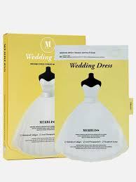 <b>Набор</b> тканевых <b>масок для упругости</b> кожи 25гр*5шт Wedding ...