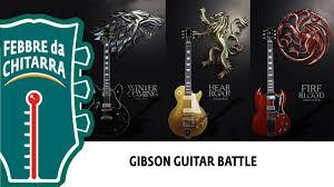 Les Paul vs. <b>SG</b> vs. 335! <b>Game of Thrones</b> GIBSON GUITAR ...