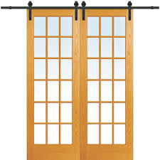 Closet Barn Doors 60 X 96 No Panel Barn Doors Interior Closet Doors The