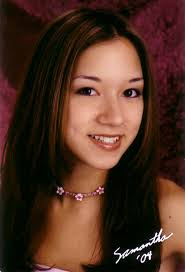 Samantha Yin Ling Loo was born on September 24th, 1985 to Stephen and Christine Loo. She is a Vocalteen but also loves to sing and dance outside of choir. - loo