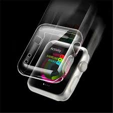 Ultra-thin <b>Transparent TPU Watch</b> Shell Protective Case Cover For ...