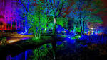 Glow: the stunning tree light display at RHS Garden Harlow Carr
