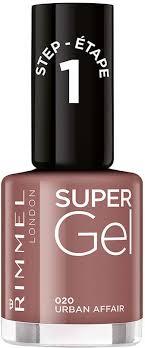 <b>Гель-лак для ногтей</b> Rimmel <b>Super</b> Gel, тон 020, 8 мл — купить в ...