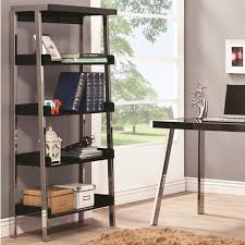 shag rug rectangle desk fascinating home office design cabinet storage cool black metal bookcase polished chrome finish frame black finish shelf 5 black shag rug home office