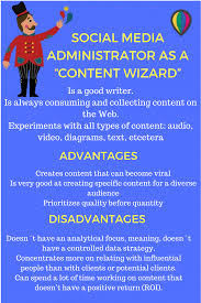 what type of social network administrator are you social media manager as a content wizard