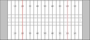 football field diagram black and white    dfilesfootball field diagram black and white