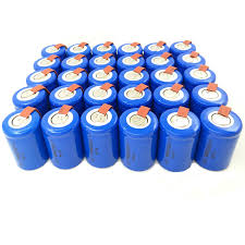 2 16pieces anmas power green 1 2v 4 5 sc sub c 2200mah ni cd nicd rechargeable batteries