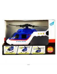 Купить <b>Вертолёт полицейский</b> (2018-1e , <b>big motors</b>) недорого с ...