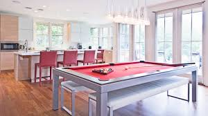 pool table dining tables: modern rustic dining table kitchen contemporary with bench seats contemporary pool