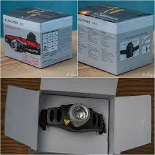 <b>Налобный фонарь</b> LED LENSER <b>H3</b>.<b>2</b> - регулировка яркости и ...