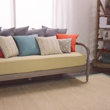 nice and cozy daybed mattress cover for your furniture decor idea oatmeal burlap mattress daybed burlap furniture