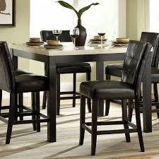 tabacon counter height dining table wine: astounding dark leather cushion seat counter stools swivel