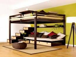 great bunk beds with couch underneath bed with office underneath