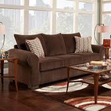 living room mattress: make this brown microfiber sofa the centerpiece of your dream living room matching loveseat