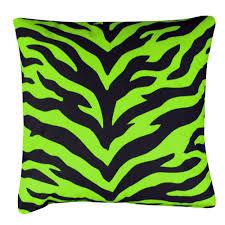 lime green zebra bedding neon bedroom
