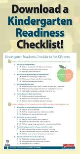 best ideas about kindergarten orientation a kindergarten readiness checklist prek graduation prepare for kindergarten
