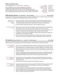 Technical Writer Functional Resume Sample Pinterest