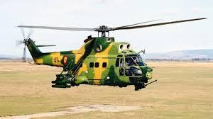 Nigeria military aircraft