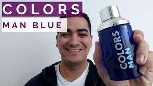PERFUME <b>COLORS MAN</b> BLUE BY <b>BENETTON</b> - YouTube
