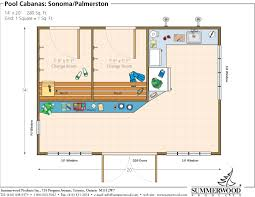 Guide Shed pool house designs  X Pool House Floor Plan