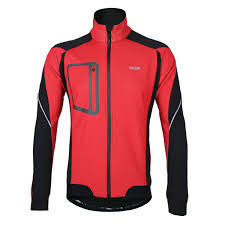 <b>Arsuxeo Winter Warm Up</b> Thermal Cycling Jacket Bicycle Clothing ...
