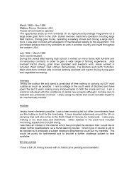 Housekeeper CV Sample CV Service org