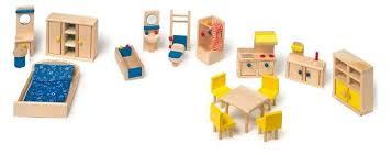Mobili Per La Casa Delle Bambole : Mobili per casa casetta con cucina bambole in legno gioco