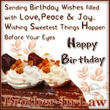 118 wishes ) Perfect Birthday Wishes Quotes For Brother In Law ... via Relatably.com