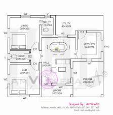sq feet   single storied house   Kerala home design and    Free floor plan